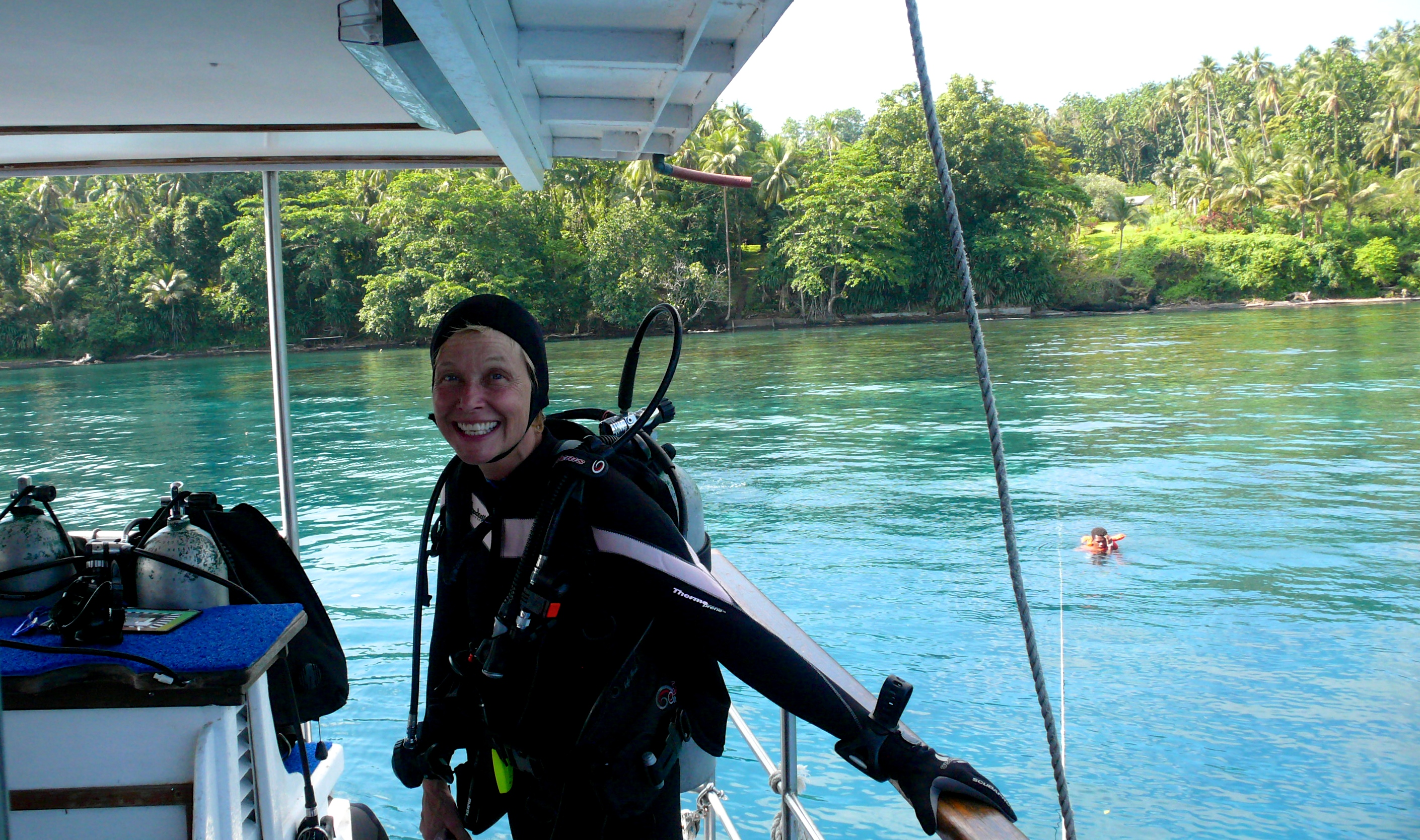 Diving in New Guinea