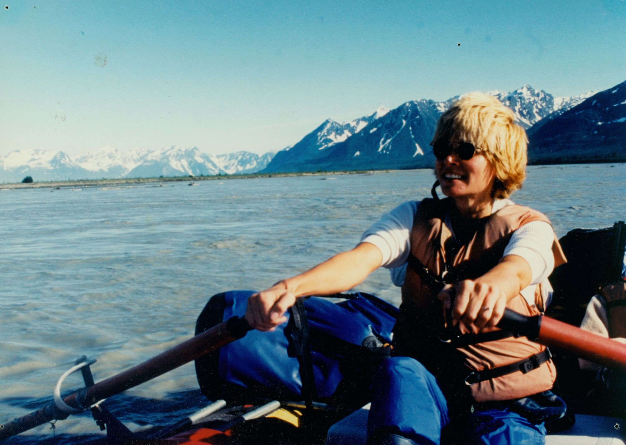 Rowing the Copper River in Alaska
